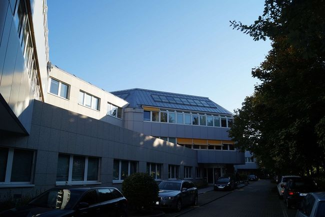 Der Campus in Ismaning