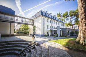 Campus Bad Honnef: Erstklassiges Studieren in internationaler Atmosphäre.